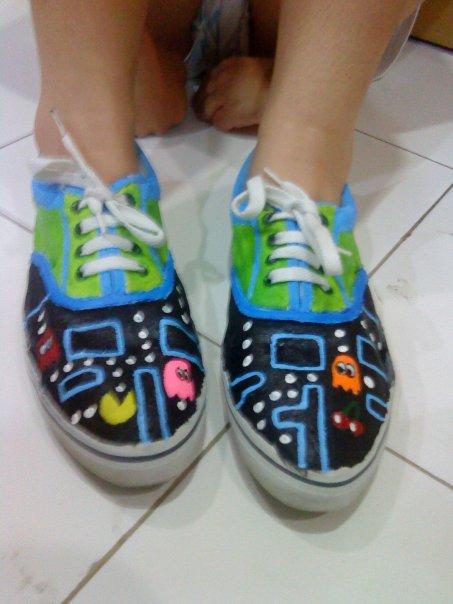 live like a fairy tales paint shoes time