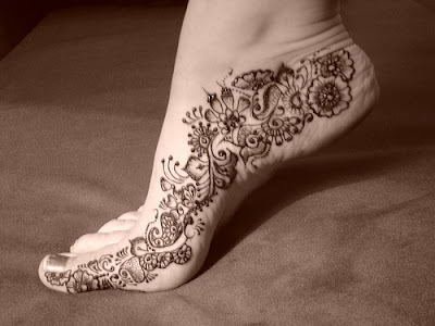 Foot Tattoos 2011