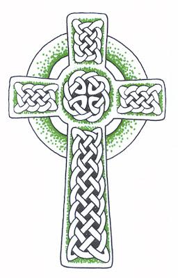 Body Panting Celebrity Tattoo Celtic Cross