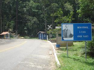 Entrada da Fazenda Cabangu