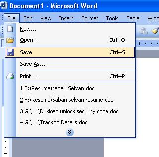 how to open ms word password protected file