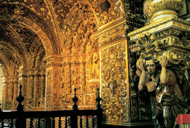 baroque church interior images