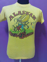 "Vtg Alaskan Mosquito 77"" shirt"