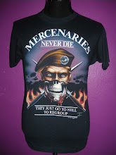 Vtg Mercenaries Never Dies