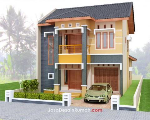 model rumah 2 lantai on Desain Rumah: Desain rumah megah menawan