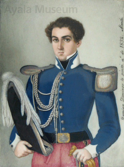 portrait of governor general pasqual de enrile y alsedo nuestra senora
