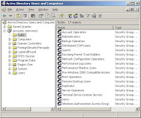 active directory konsol