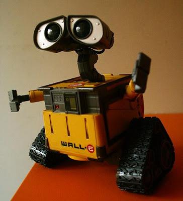 wall.e çöp toplama robotu