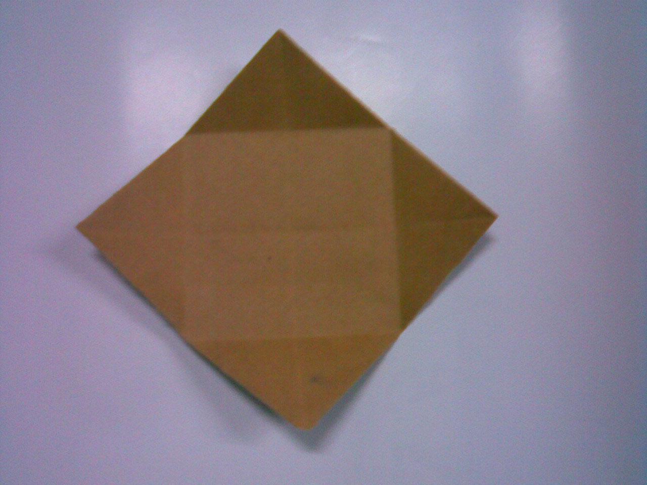 วิธี  พับกล่องกระดาษ มีฝา  พับโอริกามิ โอริงามิ  hoe papieren bloem deksel vouwen
