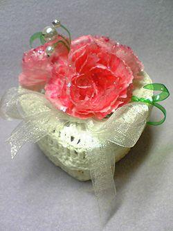 ทำดอกไม้ คาร์เนชั่น พลาสติกใช้แล้ว ถาดไข่ รีไซเคิล ขยะ