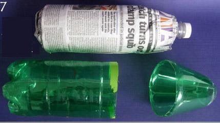 ทำขวดน้ำเย็นราคาถูก ของใช้แล้ว ขวดพลาสติก รีไซเคิล   diy cara membuat BOTOL COOL mudah murah dari plastik botol   diy hvordan man laver nem billig COOL FLASKE fra plasticflaske genbrug recraft, idé billigste genbrug gamle plastflaske