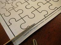 วิธีทำ จิ๊กซอว์ ตัวต่อภาพ jigsaw  กล่องกระดาษ กล่องซีเรียล กล่องอาหารเช้า บรรจุภัณฑ์ ของใช้แล้ว ลดขยะ รีไซเคิล วัสดุเหลือใช้ ไอเดีย how to diy ลดโลกร้อน โลกสีเขียว โครงงาน กระดาษ ของเล่น ของเล่นกระดาษ กระดาษใช้แล้ว recycle reuse