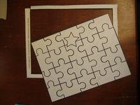 วิธีทำ จิ๊กซอว์ ตัวต่อภาพ jigsaw  กล่องกระดาษ ทำของเล่น ของเล่น กล่องซีเรียล กล่องอาหารเช้า บรรจุภัณฑ์ ของใช้แล้ว ลดขยะ รีไซเคิล วัสดุเหลือใช้ ไอเดีย how to diy ลดโลกร้อน โลกสีเขียว โครงงาน กระดาษ กระดาษใช้แล้ว recycle reuse