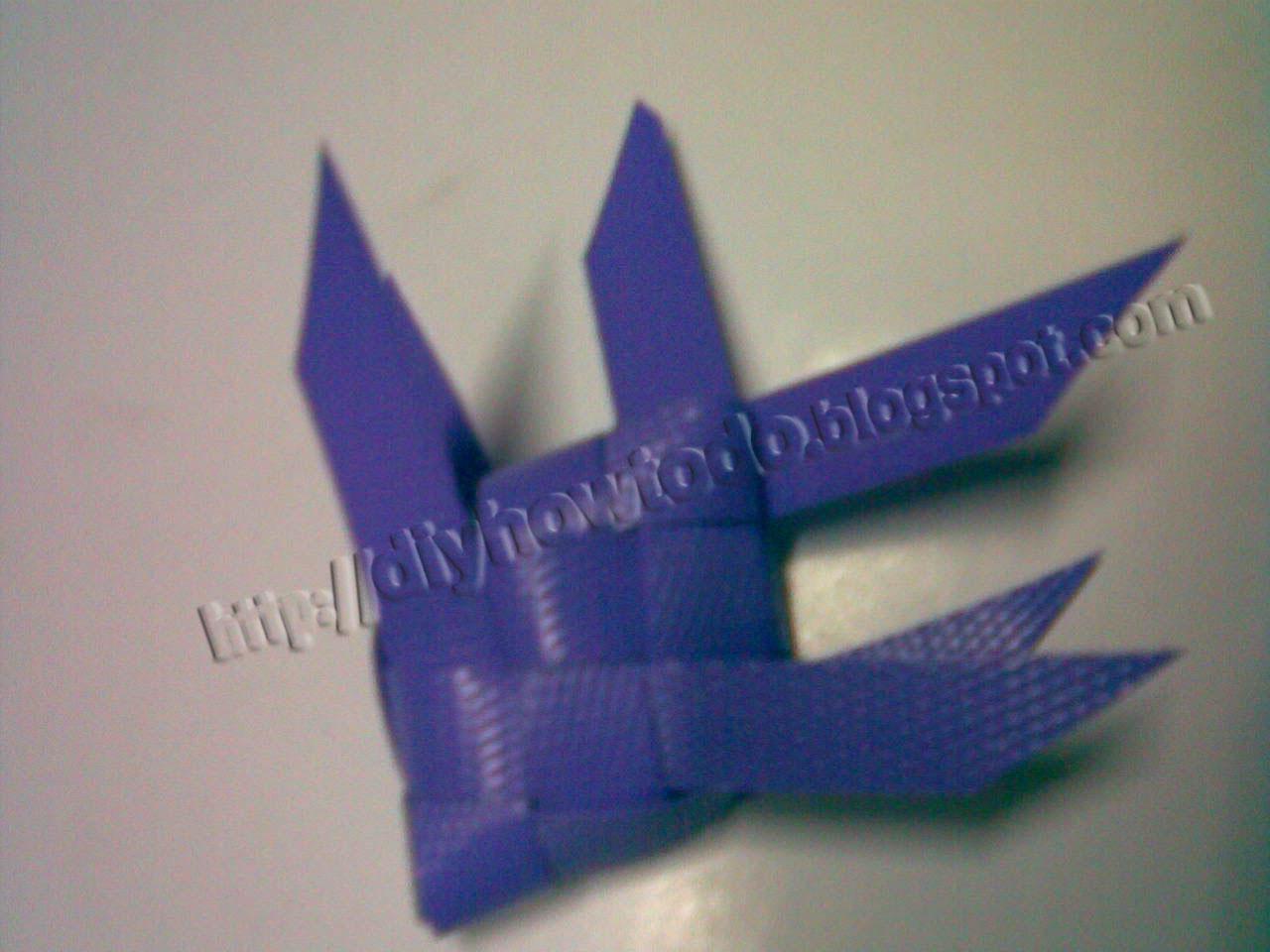 weaven fish,reuse plastic