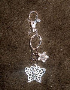 Porta chaves borboleta