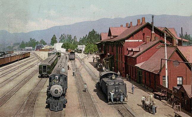 The Guzzler Trains Connect Many Parts Of San Bernardino