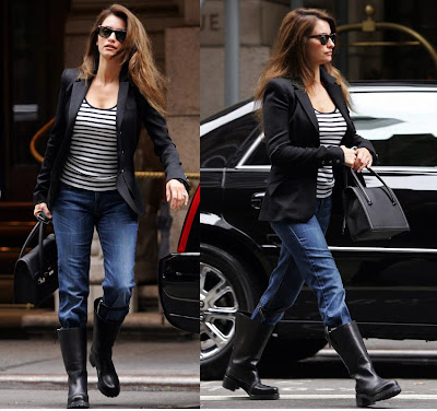 Penelope Cruz in NYC on October 10th 2009