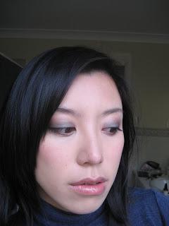 MAC Club eyeshadow duochrome FOTD