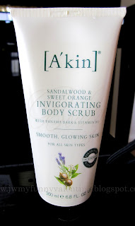 A'kin Sandalwood and Sweet Orange Invigorating Body Scrub
