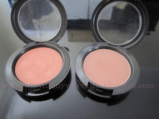 my blushes MAC Peachykween, MAC Blushbaby