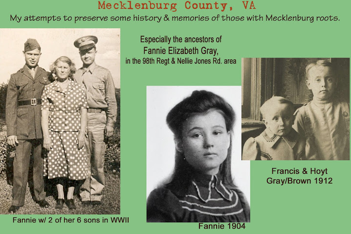 Preserving Mecklenburg, VA history and memories