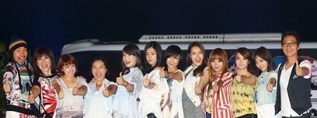Brown Eyed Girls' Narsha, After School's Kahi, Seo In Young, Noh Sa Yeon, Hong Soo Ah, Lee Jin, Shin Bong Sun, IU, Yoo In Na, KARA's Nicole, ...