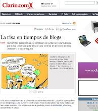 Gracias Diario CLARIN!!