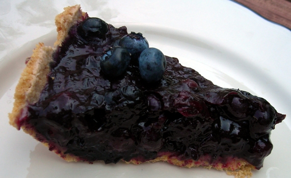 ... & Lime // recipes by Rachel Rappaport: Blueberry Ginger Ice Box Pie