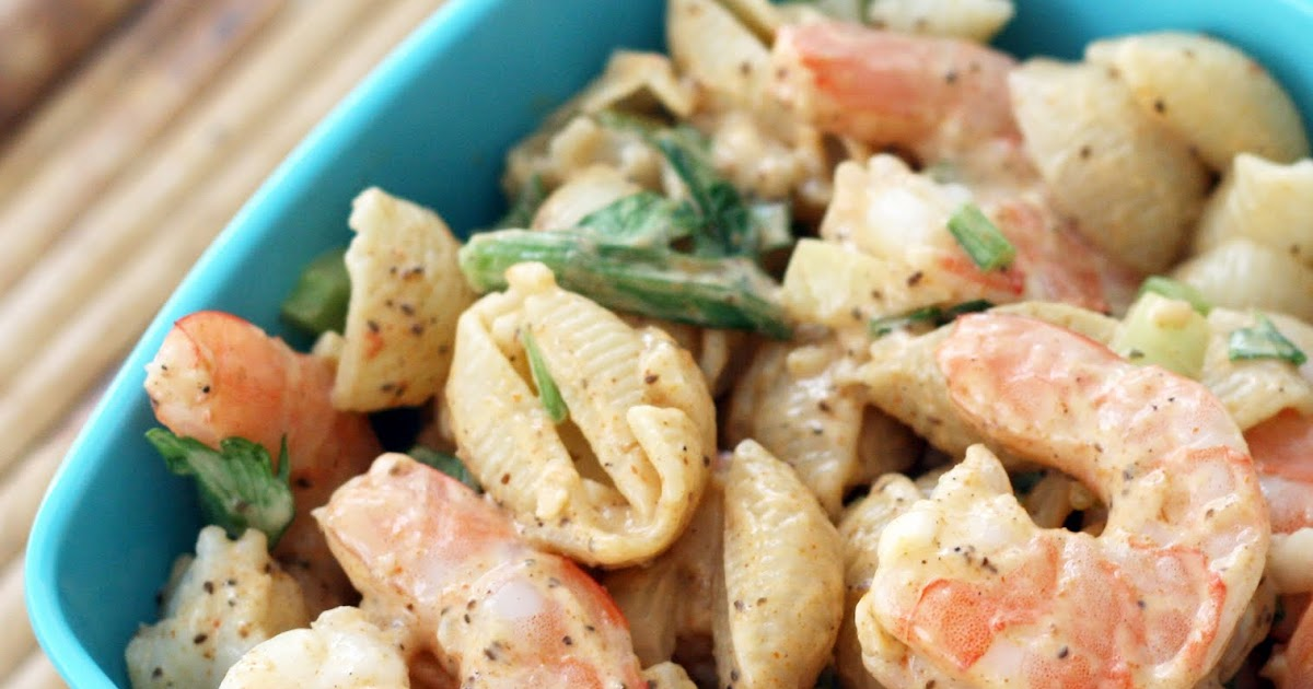 ... & Lime // recipes by Rachel Rappaport: Deviled Shrimp Pasta Salad
