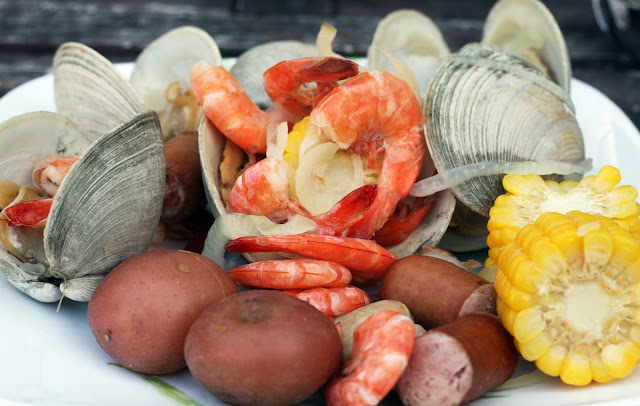Recipes By Rachel Rappaport Clam Bake On The Grill