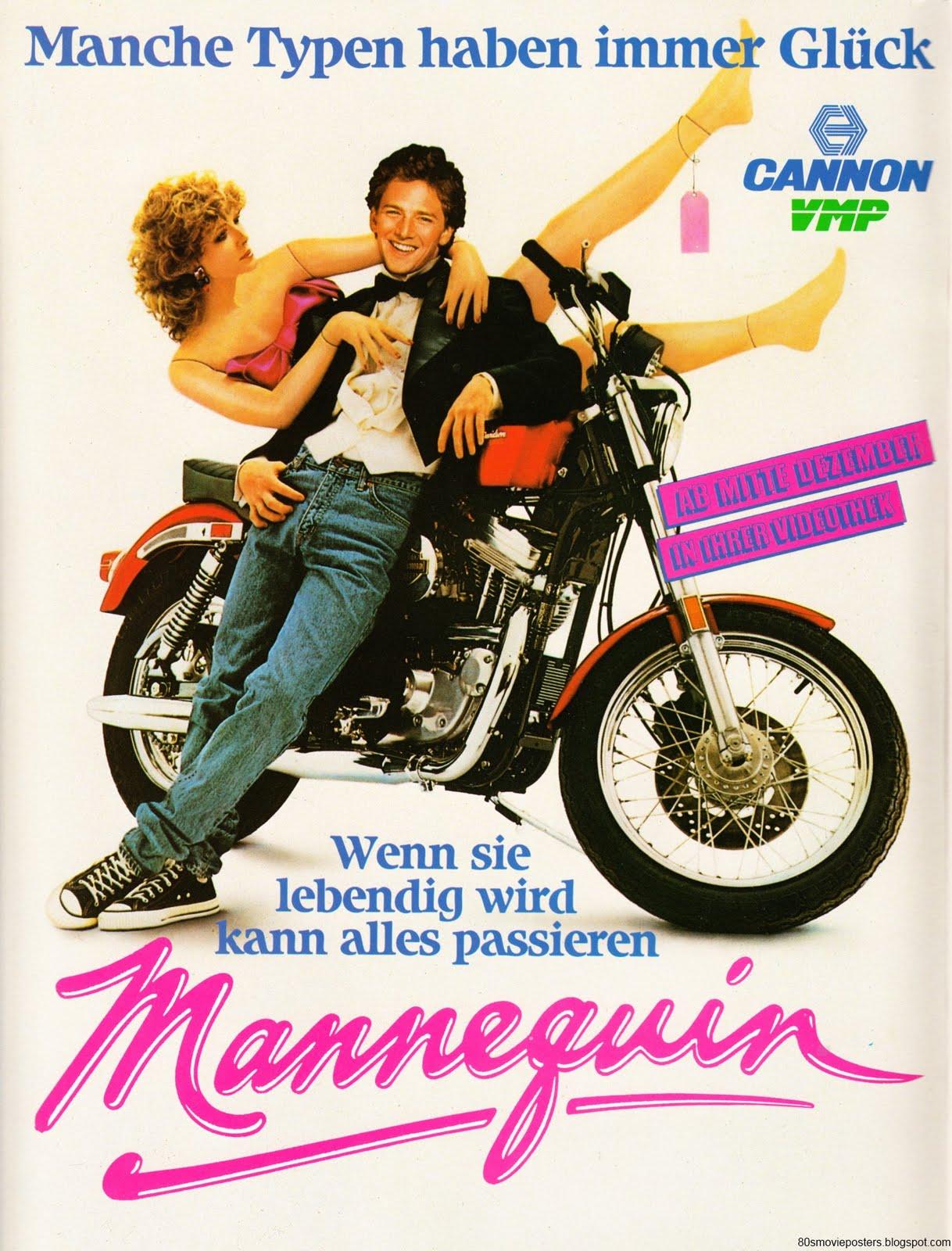 80s movie posters filmplakate der 80er mannequin 1986