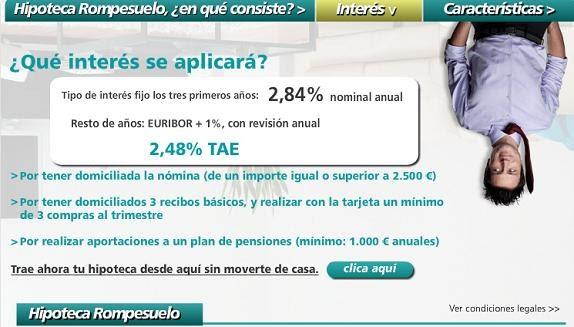 Creditos hipotecas trapasos de hipotecas hipoteca for Hipoteca interes fijo