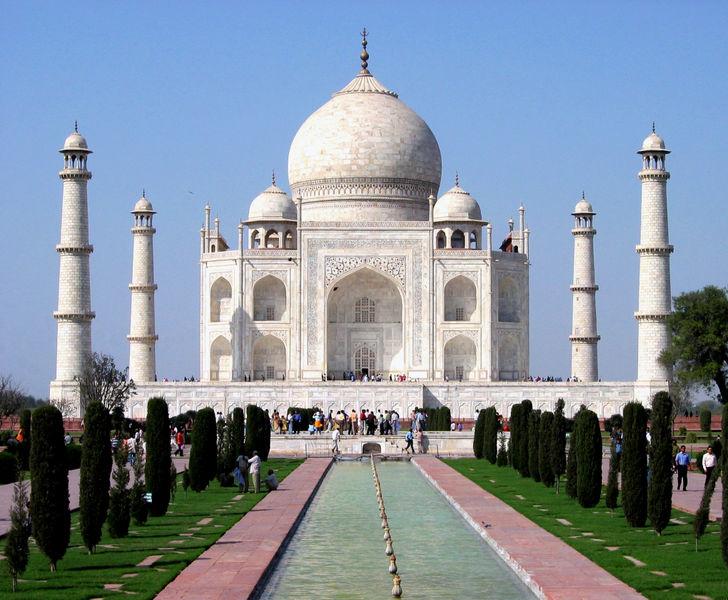 7 maravillas del mundo Taj Mahal