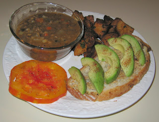 Melissa's Lentil, Chestnut, and Fennel Soup with Lemon Herb Potatoes ...