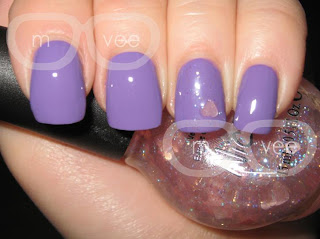 NOTD: OPI - A Grape Fit! w/ Nicole by OPI - Love your Life@ milanandvanaily