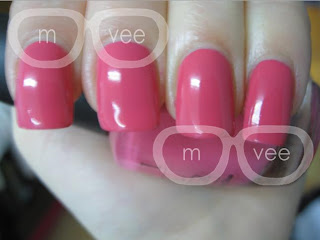 strawberry margarita opi swatch @ milanandvanaily