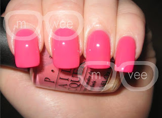 opi elephantastic pink swatch @ milanandvanaily