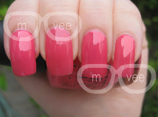 essie status symbol vs opi strawberry margarita @ milanandvanaily