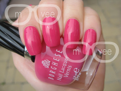Borghese Raspberry Sorbetto swatch