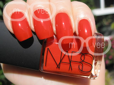 NARS Hunger swatch