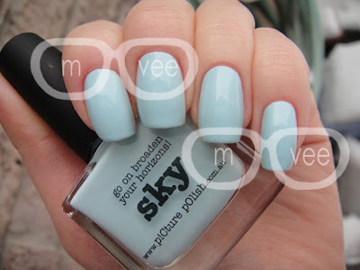 piCture pOlish sky swatch