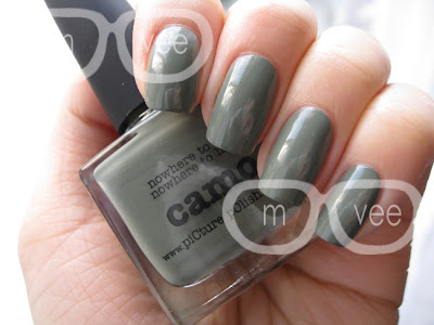 picture polish camo swatch