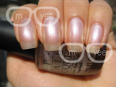 OPI Pearl of Wisdom swatch