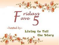 Friday Fave Five