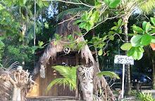Casa de um nativo em Boipeba