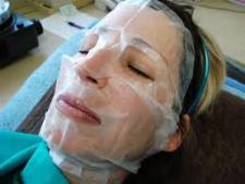 Facial operacion con plaquetas plasma