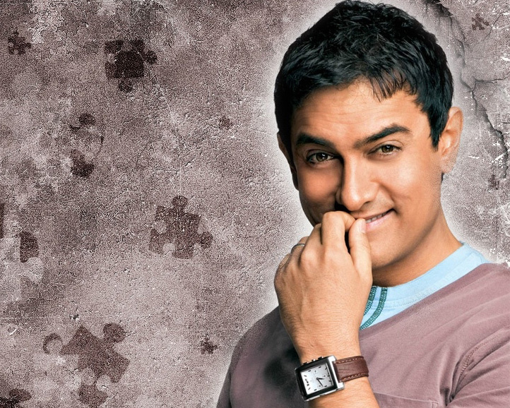 Khan Ghajini Promo Picture Amir Wallpaper