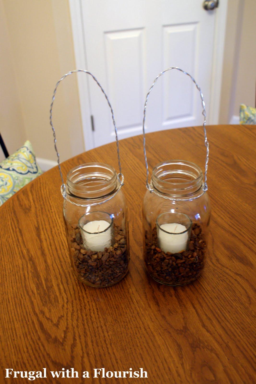 frugal with a flourish mason jar pottery barn knockoff. Black Bedroom Furniture Sets. Home Design Ideas