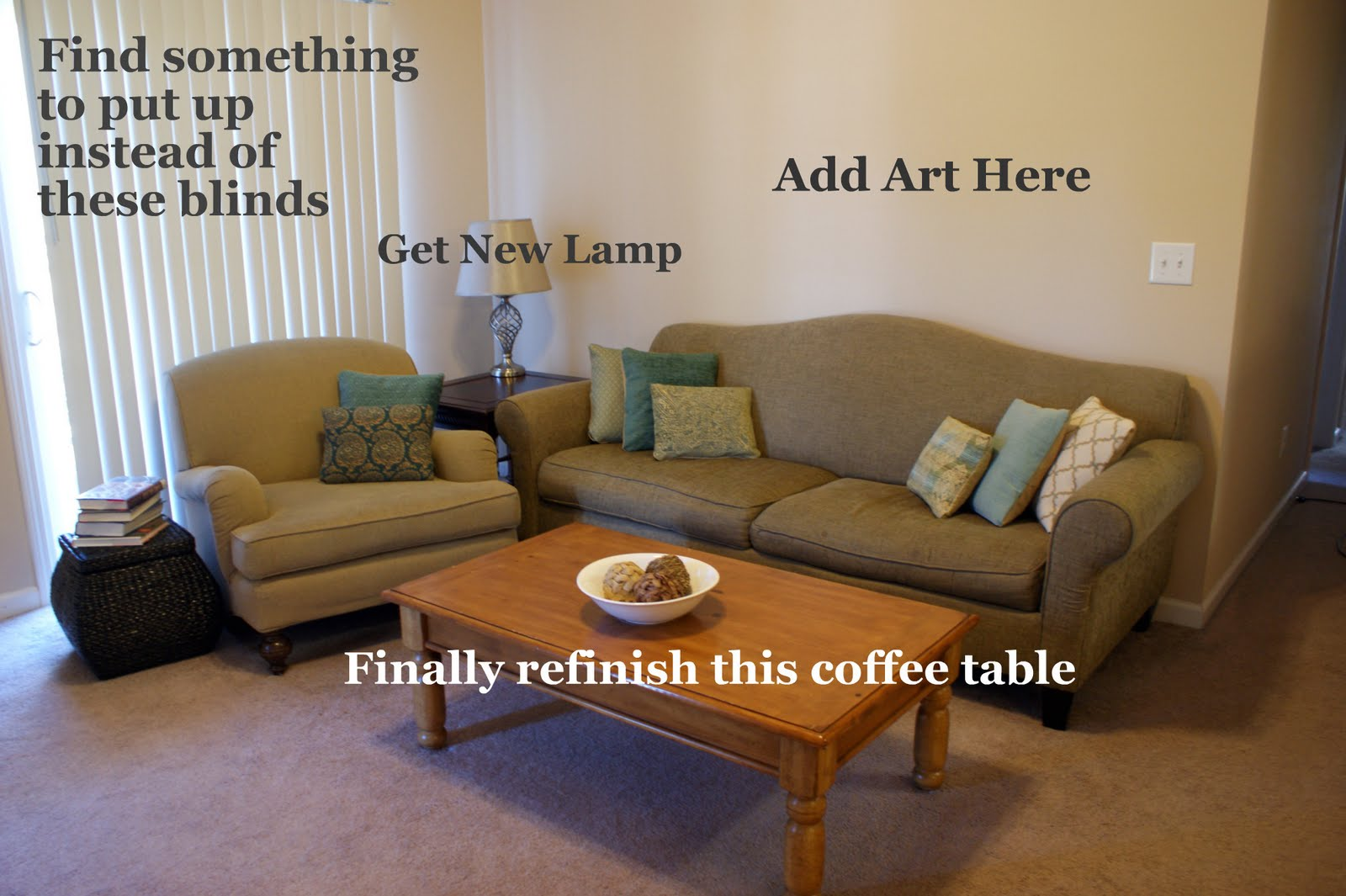 Frugal With A Flourish Living Room Redesign Update