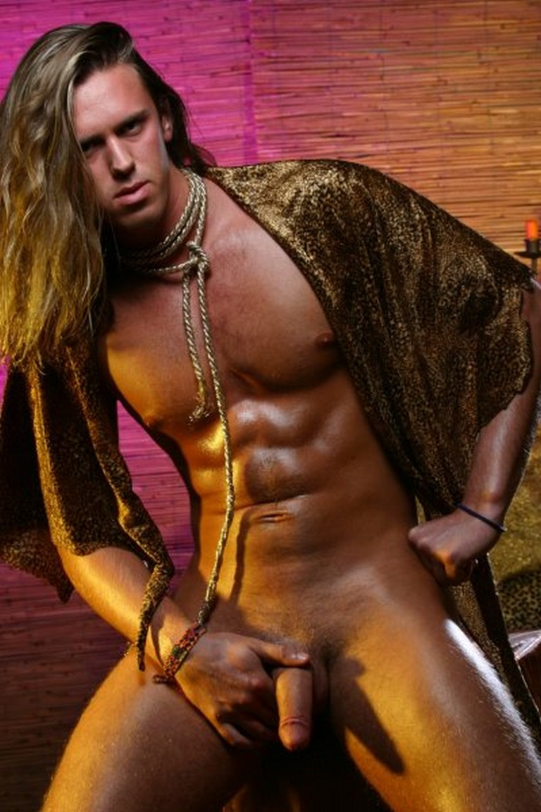 Nude Long Hair Men - Male Zone